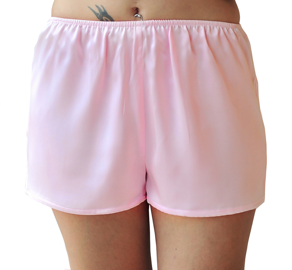 Pajama Shorts -- Women's Boxer Shorts. Our selection of women's boxer shorts include lightweight poplin cotton pajama shorts. Our licensed pajama shorts include Betty Boop and the Pink Panther. Our Betty Boop and Pink Panther pajama shorts are cut for juniors, which means that they run .